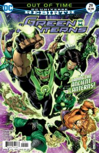 Green Lanterns #29 - DC Comics - BRAD WALKER and DREW HENNESSEY