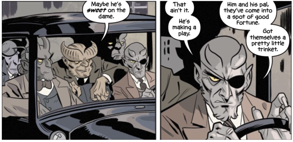 the Damned #3, Oni Press, 2017