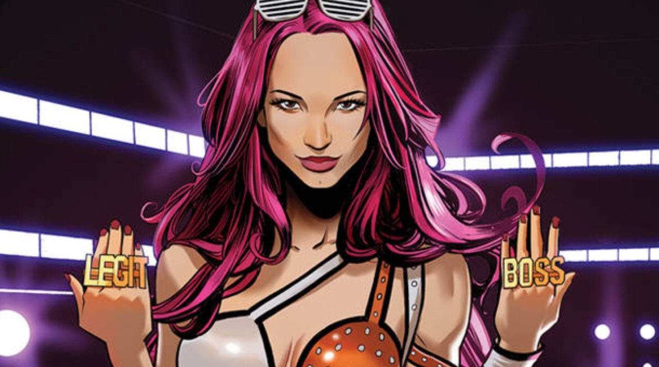 WWE #8: Dean Ambrose and Sasha Banks Get All 'Mad Max'