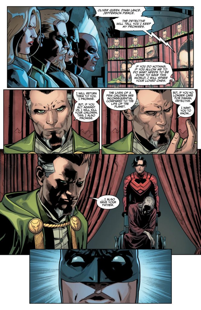 Written by Tom Taylor, pencils by Bruno Redondo, inks by Juan Albarran, colors by Rex Lokus, letters by Wes Abbott