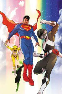 Justice League/Power Rangers 5 - DC Comics/Boom! Studios - 2017 - Karl Kerschl