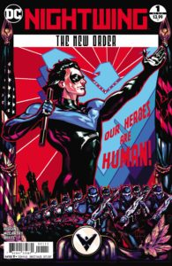 Nightwing: The New Order 1 - DC Comics - Trevor McCarthy