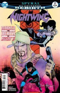 Nightwing #27 - DC Comics - Javier Fernandez