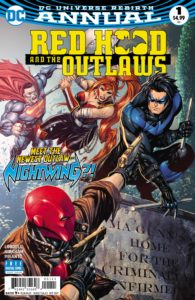 Red Hood and the Outlaws Annual 1 - DC Comics - Tyler Kirkham and Tomeu Morey