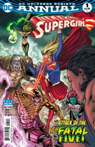 Supergirl Annual 1 - DC Comics - Robson Rocha