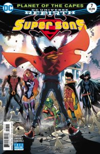 Super Sons #7 - DC Comics - Jorge Jimenez