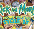 Rick & Morty, Pocket Like You Stole It, Oni Press, 2017, (W) Tini Howard (A) Marc Ellerby (C) Katy Farina (CA) (Cover A) Marc Ellerby with Katy Farina (Cover B) D.J. Kirkland