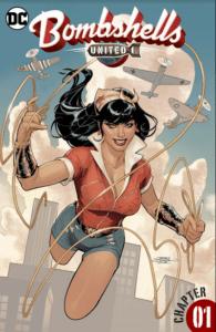 Bombshells United 1 - DC Comics - Terry and Rachel Dodson