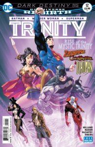 Trinity #12 - DC Comics - Clay Mann
