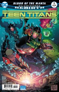 Teen Titans 11 - DC Comics - Brad Walker, Andrew Hennessy, and Jim Charalampidis