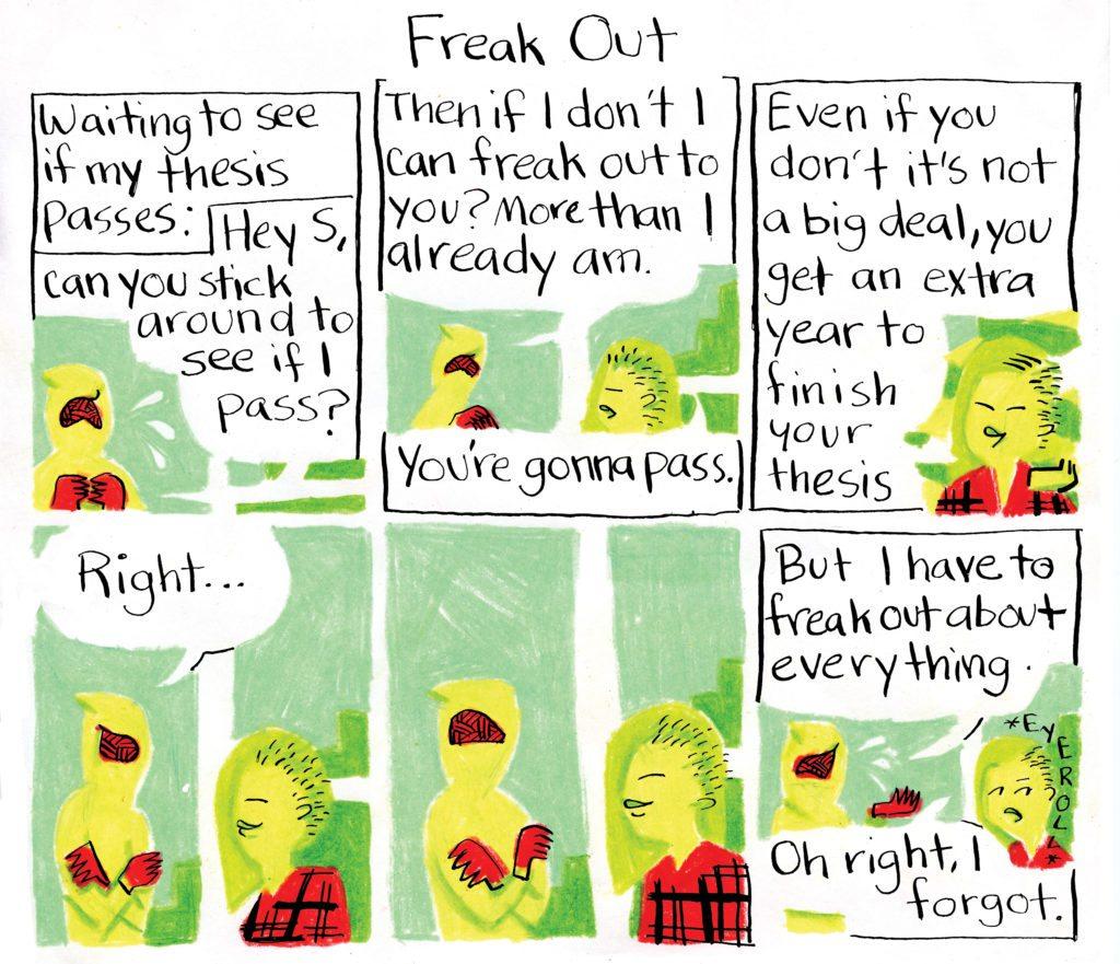 Everything is Fine comic courtesy Anna Selheim