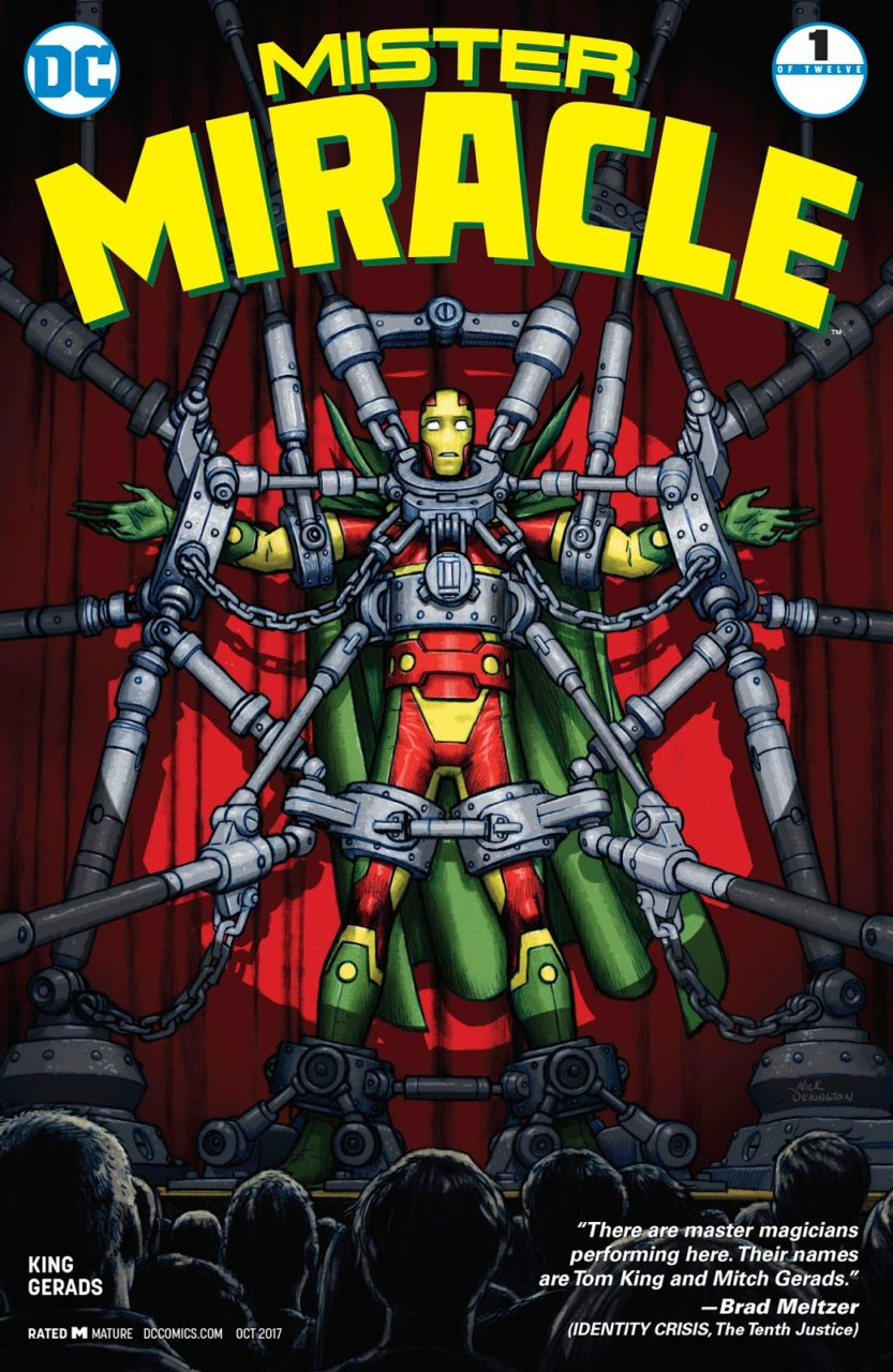 Still Standing: Mister Miracle Escaping the Stigma of Mental Illness