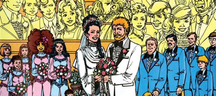 The Wedding Issue: Donna Troy and Terry Long
