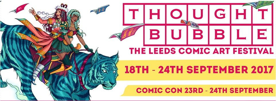Thought Bubble UK in 2017
