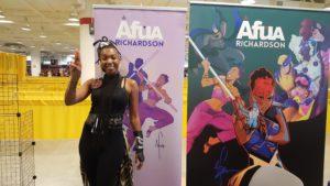 Afua Richardson as Storm (twitter: @AfuaRichardson), Dragon Con 2017