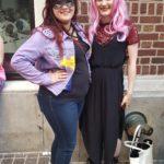 Batgirl (twitter: twitnithegirl) and Black Lady (Sailor Moon), Dragon Con 2017