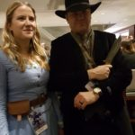 Dolores Abernathy (instagram: abbyjane504) & The Man in Black, Westworld, Dragon Con 2017