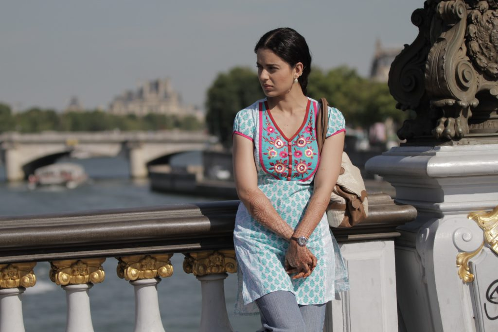Kangana Ranout as Rani in Queen