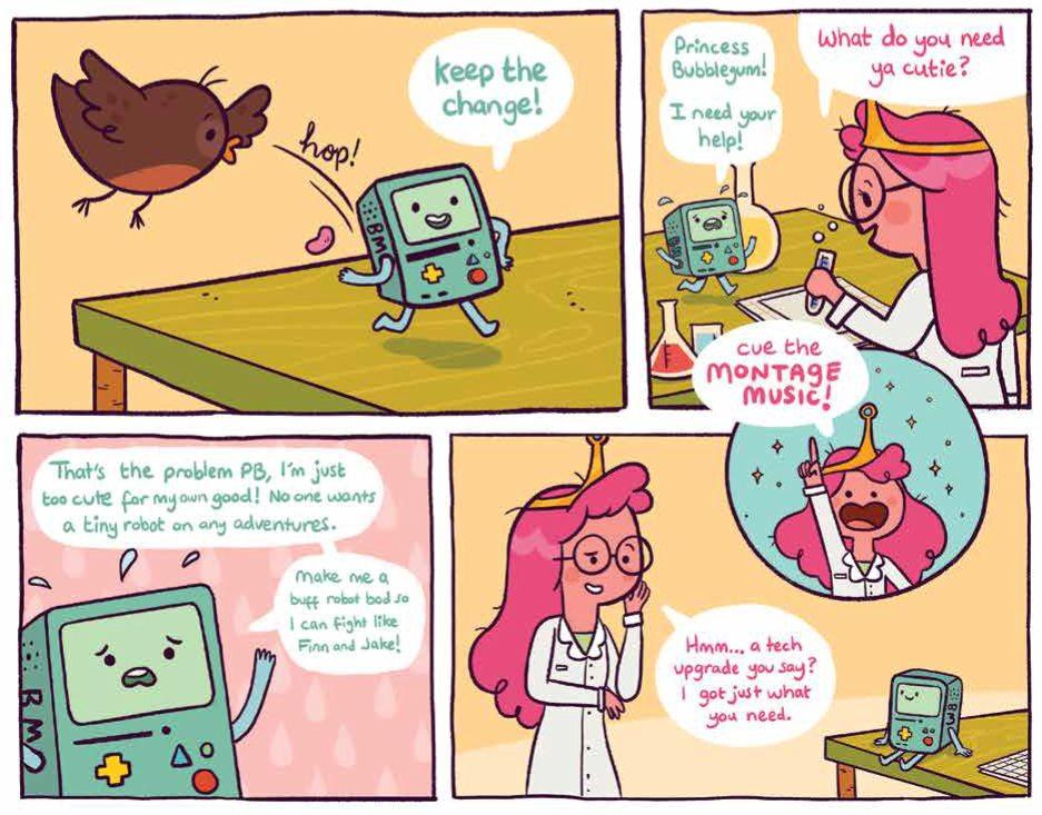Adventure Time Comics #15 KaBOOM! Writers: Anoosha Syed, Marie Enger, Ben Passmore, Jenna Ayoub Artists: Anoosha Syed, Marie Enger, Ben Passmore, Jenna Ayoub