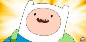Finn the Human in Adventure Time on Cartoon Network