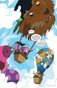Adventure Time #68 Publisher: KaBOOM!, an imprint of BOOM! Studios Writer: Delilah S. Dawson Artist: Ian McGinty Cover Artists: Main Cover: Shelli Paroline & Braden Lamb
