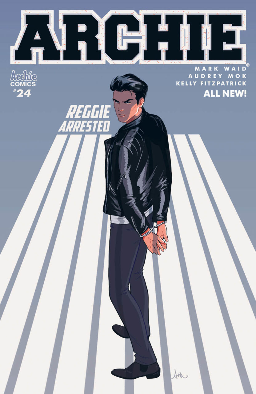 Archie #24, Script: Mark Waid Art: Audrey Mok, Kelly Fitzpatrick, Jack Morelli Cover: Audrey Mok Variant Cover: Thomas Pitilli