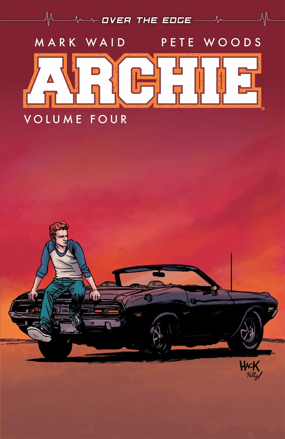 Archie v4, Script: Mark Waid Art: Pete Woods, Jack Morelli Cover: Robert Hack