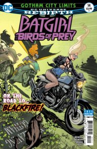 Batgirl & the Birds of Prey 14 - DC Comics - Yanick Paquette and Nathan Fairbairn