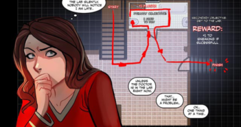 Blood Stain volume 3: written by Linda Sejic, art by Linda Sejic