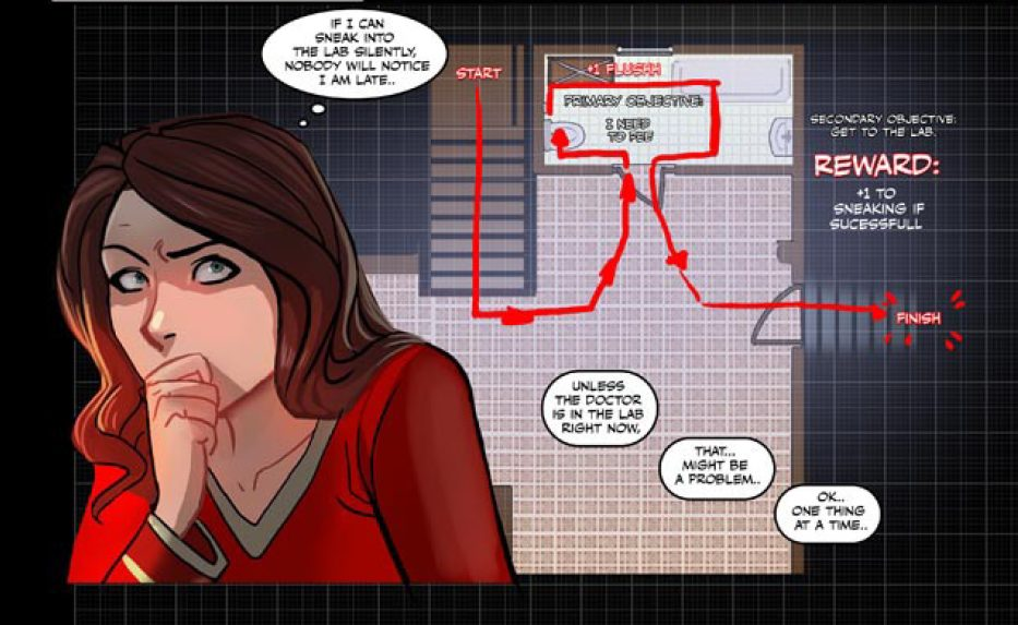 Blood Stain: An Interview With Linda Sejic