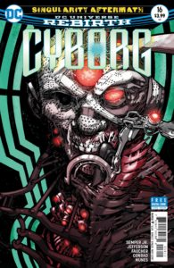 Cyborg 16 - DC Comics - Eric Canete and Guy Major