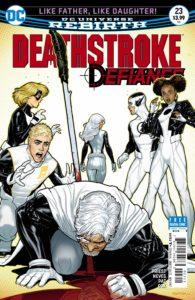 Deathstroke 23 - DC Comics - Ryan Sook