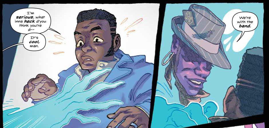 Godshaper #6 (of 6) Publisher: BOOM! Studios Writer: Simon Spurrier Artist: Jonas Goonface Cover Artist: Jonas Goonface