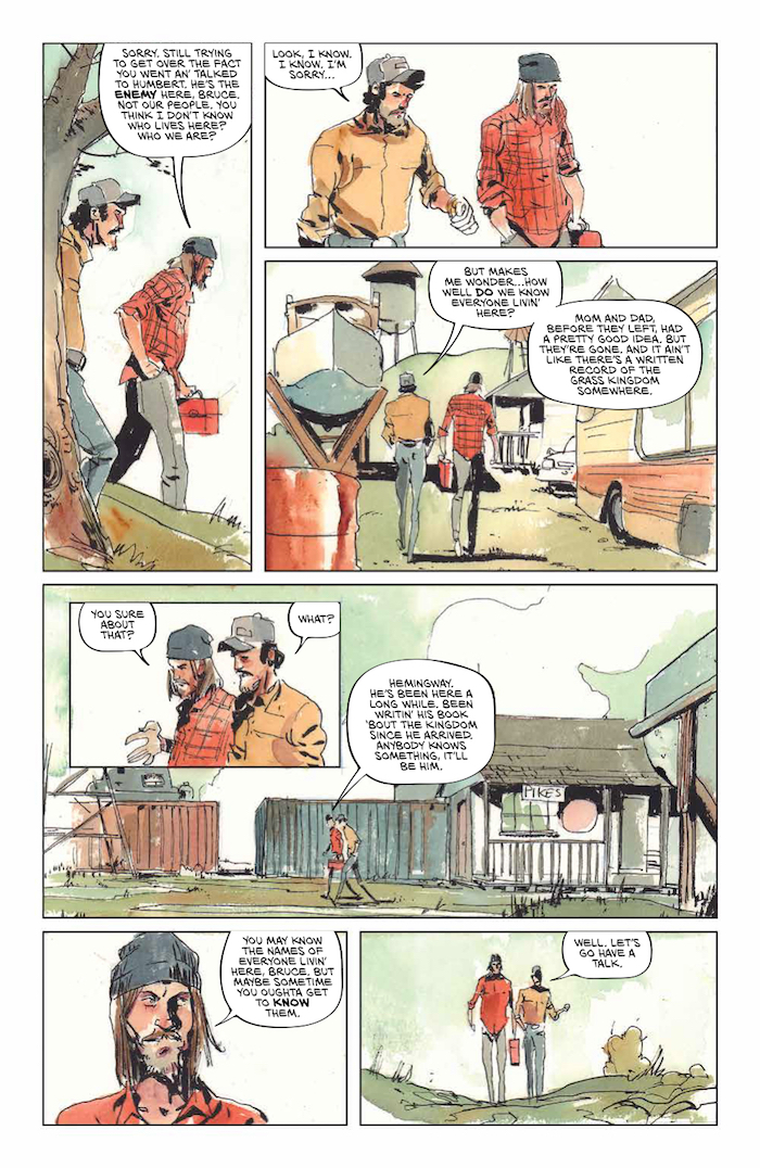 Grass Kings #7 Publisher: BOOM! Studios Writer: Matt Kindt Artist: Tyler Jenkins
