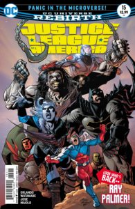 Justice League of America #15 - DC Comics - Ivan Reis and Marcelo Maiolo
