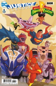 Justice League/Power Rangers #6 - DC Comics - Karl Kerschl