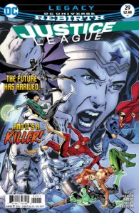 Justice League #29 - DC Comics - Bryan Hitch and Jeramiah Skipper