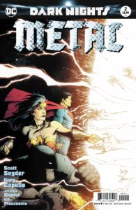 Dark Nights: Metal #2 - DC Comics - Capullo, Glapion and Plascencia