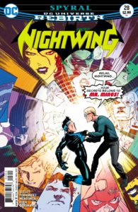 Nightwing 28 - DC Comics - Javier Fernandez and Chris Sotomayor
