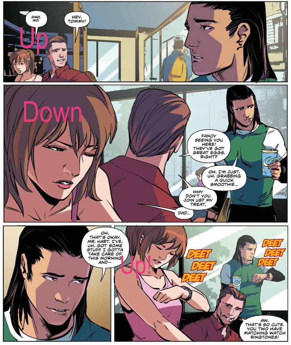 Mighty Morphin Power Rangers #19 Publisher: BOOM! Studios Writer: Kyle Higgins Artist: Hendry Prasetya