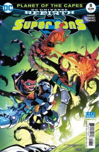 Super Sons #8 - DC Comics - Jorge Jimenez and Alejandro Sanchez