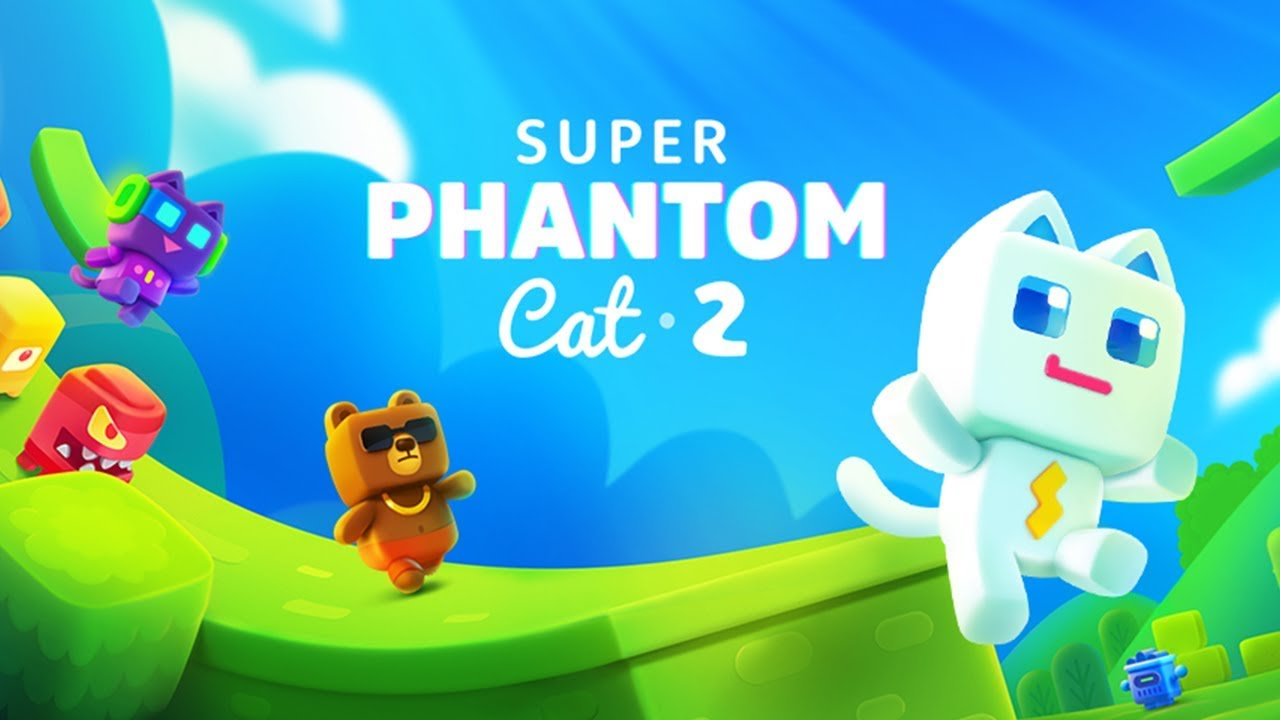 Super Phantom Cat 2 and the Hidden Worlds Around Us [GIF]