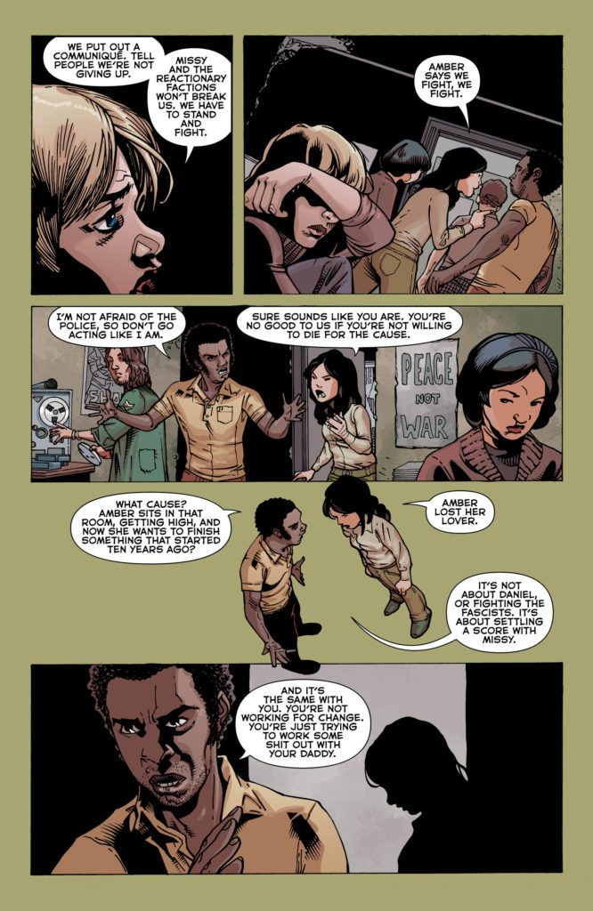 The American Way #3: written by John Ridley, pencils by Georges Jeanty, inks by John Livesay, colors by Nick Filardi, letters by Travis Lanham
