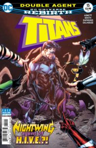Titans 15 - DC Comics - Booth, Rapmond, and Dalhouse
