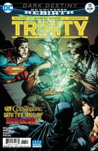 Trinity #13 - DC Comics - David Finch and Brad Anderson