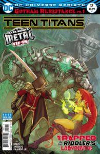 Teen Titans 12- DC Comics -Stjepan Sejic