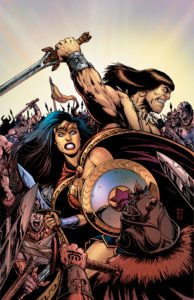 Wonder Woman/Conan #1 - DC Comics -Darick Robertson with Tony Avina