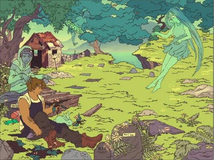 Taproot is a Sublime, Succulent, Surprise of a Comic