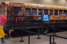 float bus at fan expo, stephanie austin