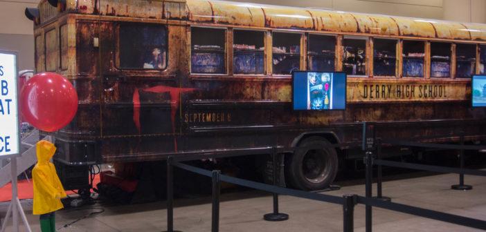 float bus at fan expo, stephanie austin